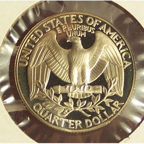 1987-S DCAM Proof Washington Quarter PF65 #0293