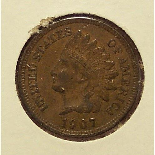 1907 Indian Head Penny EF #0303
