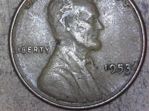 1953 - P reverse die chip