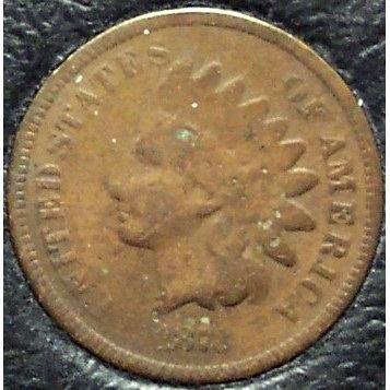 1873 Indian Head Open 3 G4 #0309