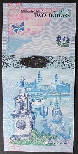 Bermuda P57b 2 Dollars UNC63