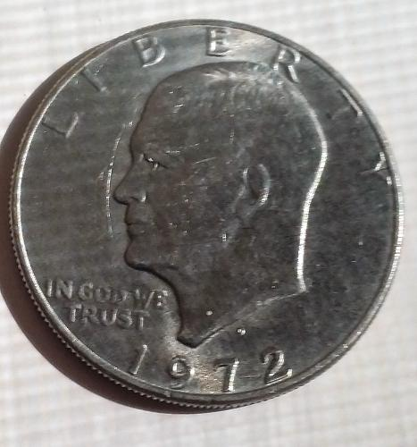1972 P Eisenhower Dollar