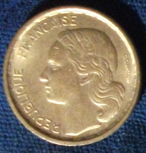 1950 France 10 Francs XF
