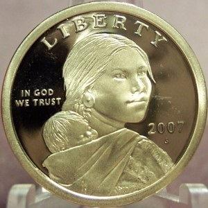 2007-S Proof Sacagawea Dollar PF 65 DCAM #0330