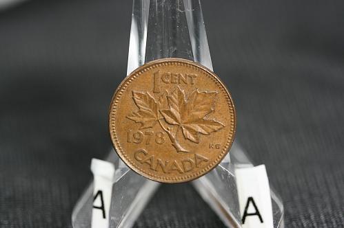 1978  Canada small cent