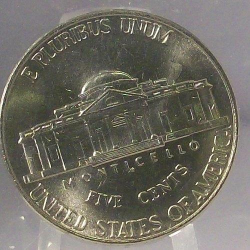 2001-P Jefferson Nickel MS65 FULL STEPS In the Cello #0343