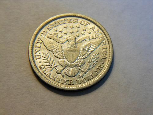 1898-P Silver Barber Quarter