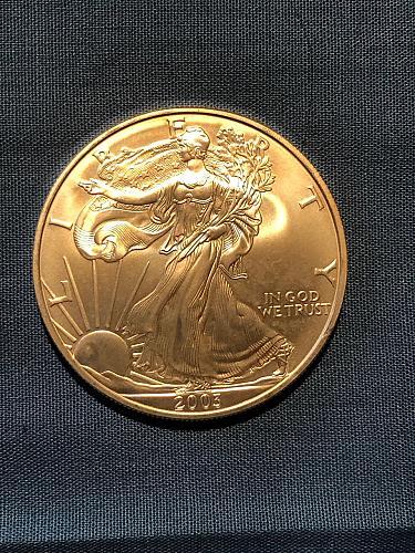 American Eagle $1 Silver 2003