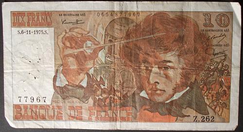 France P150b 10 Francs VG