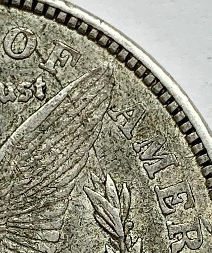 1921 D Morgan Dollar-VAM 1B1 Capped R - HOT 50