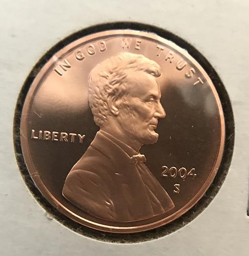 2004 S Proof Lincoln Cent