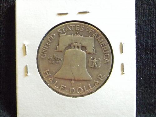 1949 D Franklin Half Dollar