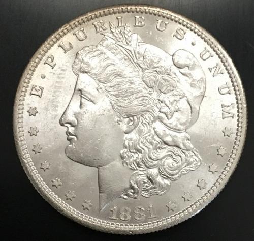 1881-S Morgan Dollar MS63