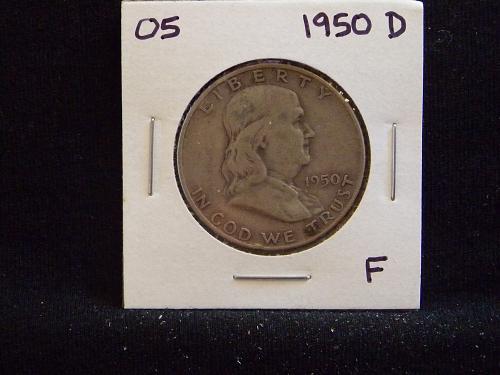 1950 D Franklin Half Dollar