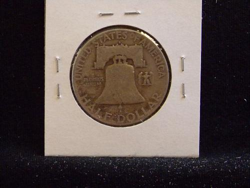 1951 S Franklin Half Dollar
