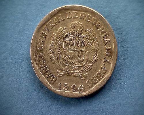 1996 PERU  ONE NUEVO SOL
