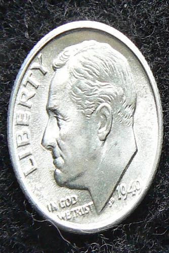 1949 S Roosevelt Dime