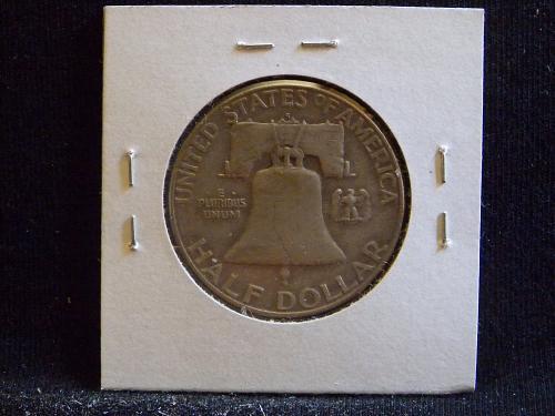 1954 S Franklin Half Dollar