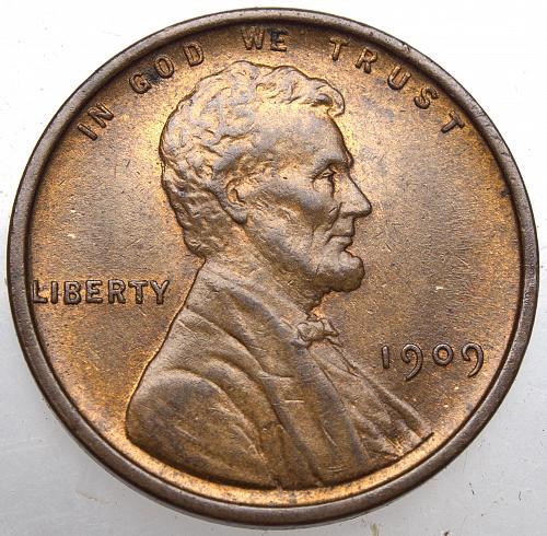 1909 P Lincoln Wheat Cent #12