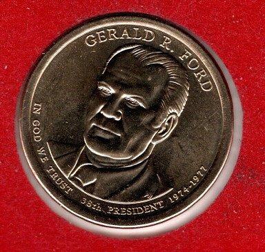 2016 D Presidential Dollars: Gerald R. Ford -#3