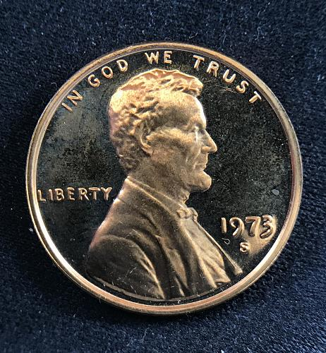 1973 S Proof Lincoln Cent