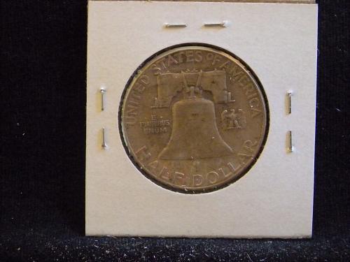 1957 P Franklin Half Dollar