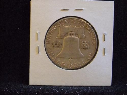1958 P Franklin Half Dollar
