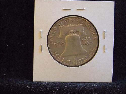 1959 P Franklin Half Dollar