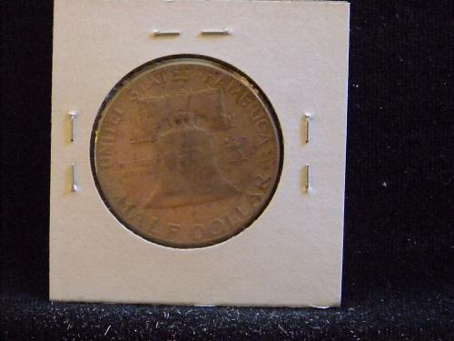 1961 P Franklin Half Dollar
