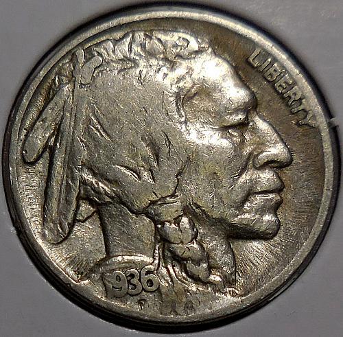 1936-S Buffalo Nickel *
