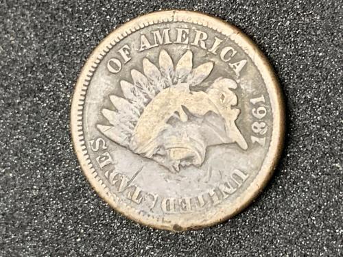 1861 Indian Head  Good buy