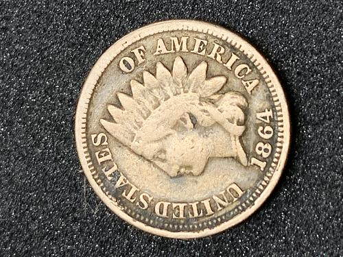 1864 Indian Head Cent - Price reduced 1/25/2021