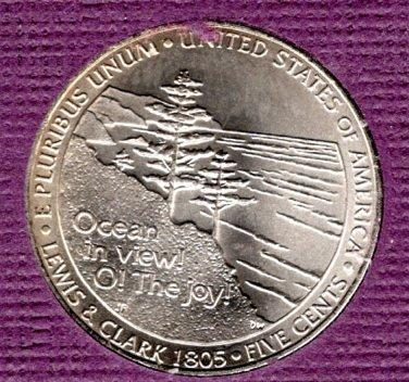 2005 D Jefferson Nickels: Ocean in View - #4