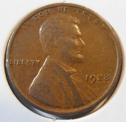 1928 D Lincoln Cent (28DEW1)