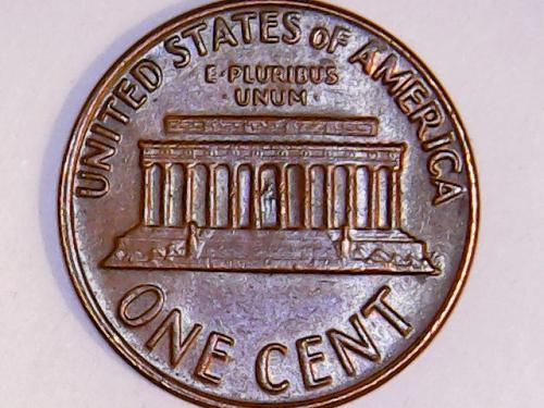 FLOATING ROOF 1969 D Lincoln Memorial Cent  SEE PICTURES