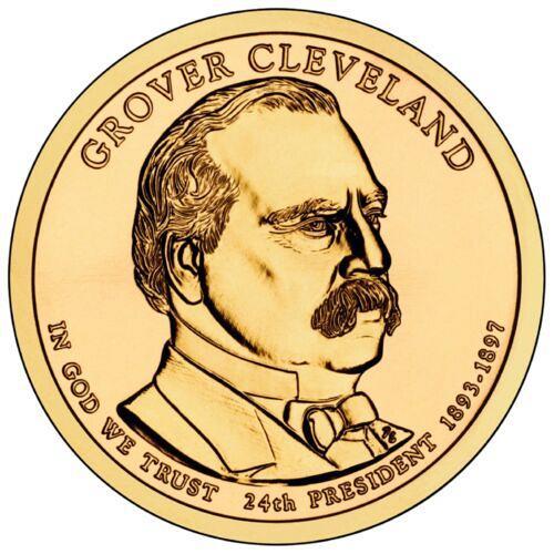 2012  P GROVER CLEVELAND GOLDEN DOLLAR