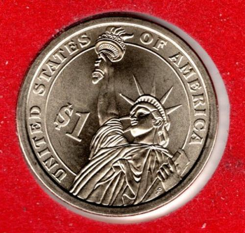 2008 D Presidential Dollars: Martin Van Buren -#3