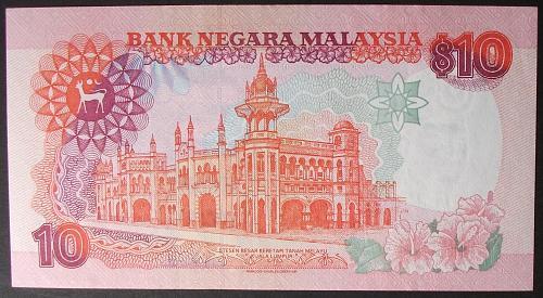 Malaysia P36 10 Ringgit AU