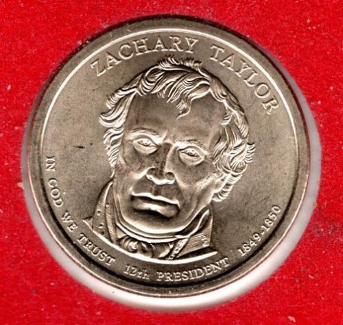 2009 D Presidential Dollars: Zachary Taylor -#3