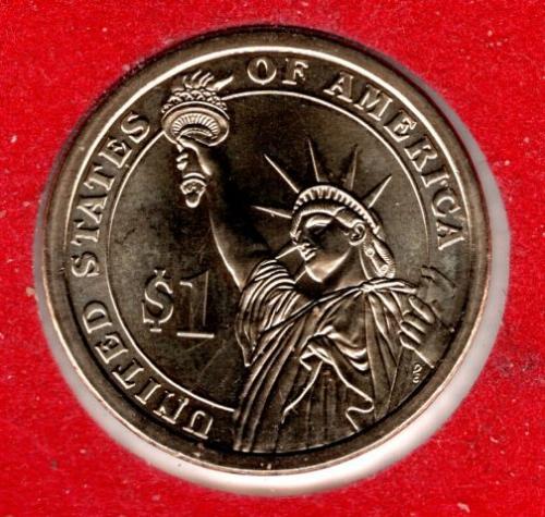 2011 D Presidential Dollars: James A. Garfield -#3