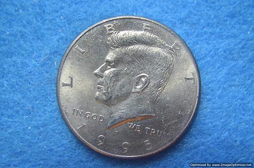 1995 P Kennedy Half Dollars