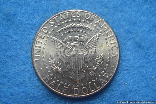 2001 P Kennedy Half Dollars