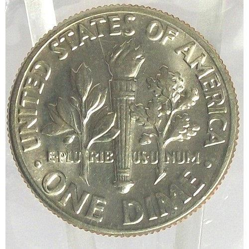 1971-D Roosevelt Dime MS65 In the Cello #0399