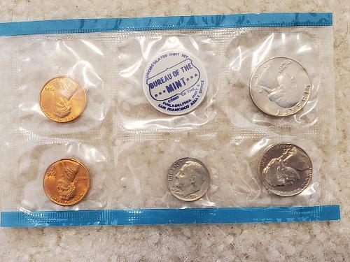 1970 Mint Set Philadelphia Only