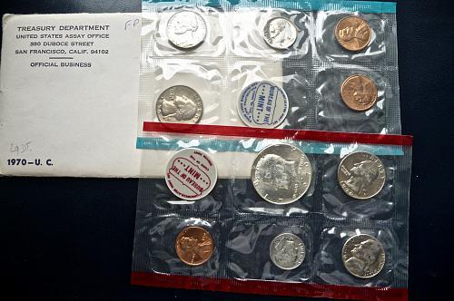 1970 Mint Set