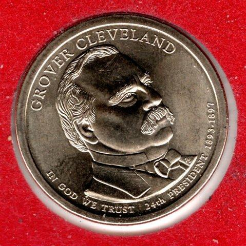 2012 P Presidential Dollars: Grover Cleveland -#4