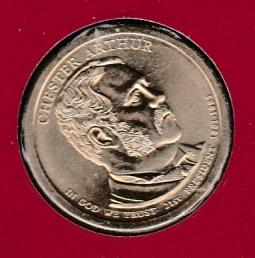 2012 P Presidential Dollars: Grover Cleveland -#2