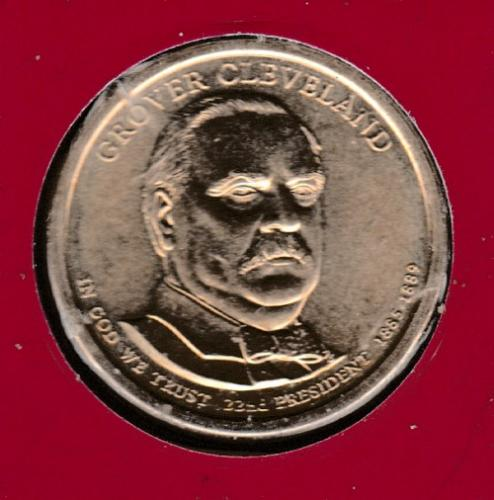 2012 P Presidential Dollars: Grover Cleveland -#3