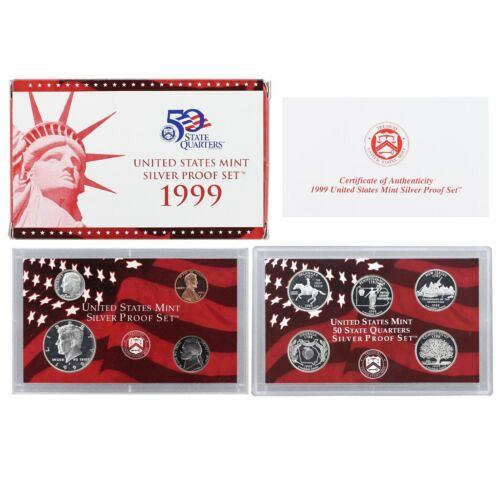 1999  S  SILVER PROOF SET