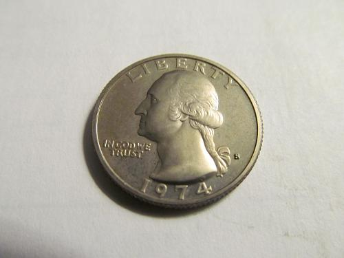 1974-S Washington Quarter